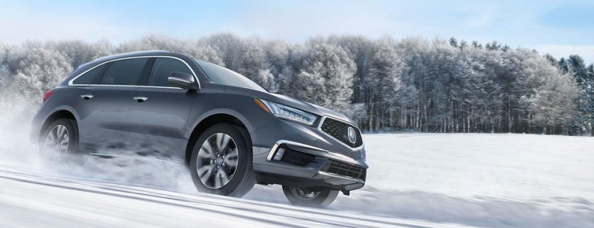 Acura MDX Snow